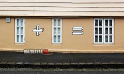 Ügyes graffiti