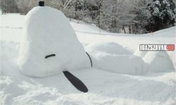 Csak egy hó Snoopy