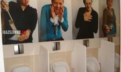 Férfi WC humor Belgiumban!