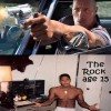 """Így nézett ki Dwayne  """"The Rock""""  Johnson 15 évesen"""