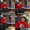Joey franciául tanul