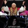 Miért mondott le a pápa?