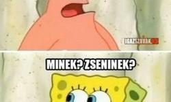 Patrick, te egy zseni vagy!