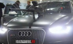 2013 Audi RS 4 Avant Paintball harc