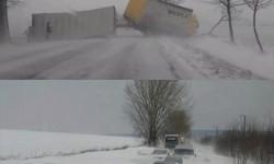 A hó fogságában, március 15 képekben