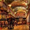 Csak egy könyvtár Prágában