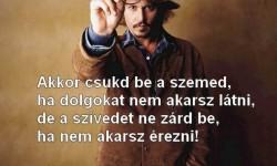 Johnny Depp – Akkor csukd be a szemed