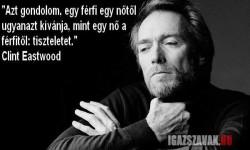 Clint Eastwood – Azt gondolom….