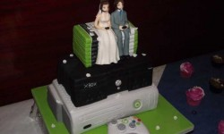 Ez az igazi kockák esküvői tortája