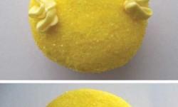 Húsvéti csibe muffin