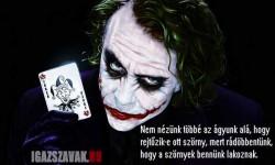 Nagy igazság a Jokertől