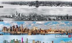 New York városképének alakulása