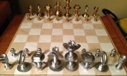 Sakk-készlet házilag