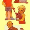 Simpsonék újrarajzolva