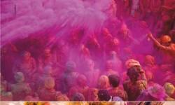 Tavaszköszöntés. A színek fesztiváljával Indiában