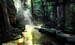 Misztikus templom romjai