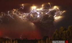 Vulkánkitörés Chilében