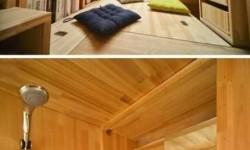 7,5 négyzetméteres szoba, egy kínai diák munkája
