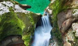 Smaragd Medence, az Alpokban, Ausztria