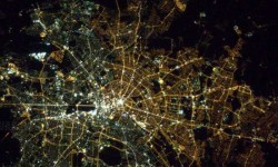 A nap képe: Berlin az űrből