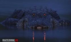 Világító szemű aligátor