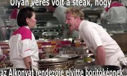 Gordon Ramsey – Kicsit nyers volt a steak