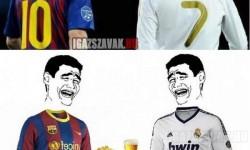 Ronaldo és Messi készen állnak a nagy találkozásra