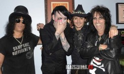 Slash, Marilyn Manson, Johnny Depp, Alice Cooper