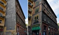 Budapesti falfestés csillagos ötös!