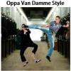Oppa Van Damme style