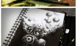 Egy francia művész lenyűgöző ceruzarajzai
