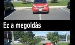 Ha valaki önkényesen parkol