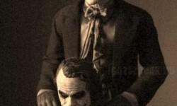 Jack Nicholson és Heath Ledger , a két Joker
