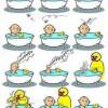 Kiskacsa fürdik