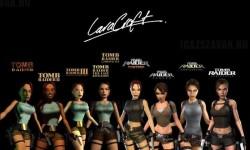 Lara Croft átalakulása az évek során