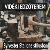 Videki edzőterem Sylvester Stallone stílusban