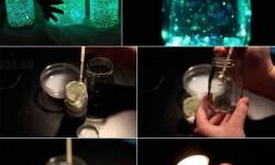 Csináld magad:  Világító üveg a hálószobába