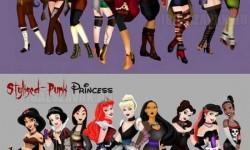 Disney hercegnők divatbemutatója