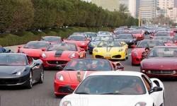Közlekedési dugó Dubaiban