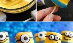 Készítsd otthon: Minion mályvacukor