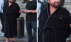 Zach Galifianakis  New York City utcáin – nem egy film kedvéért