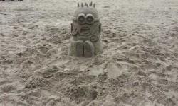 A legjobb minion homokszobor