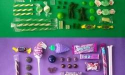Cukorkák színkavalkádja