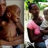 Szívszorító fotó: egy kisfiú és anyukája akkor és most