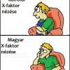 X-faktor nézése
