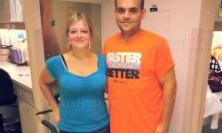 Közel 240 kilót fogyott összesen egy fiatal pár