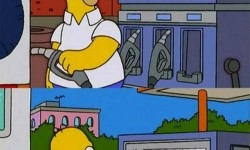 Így tankolj ha nem akarsz fizetni – Homer logika