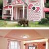 Beköltöznétek egy ilyen Hello Kitty házba?