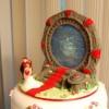 Csak egy hihetetlenül menő esküvői torta