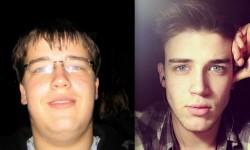 Így változik meg az arcod, ha lefogysz